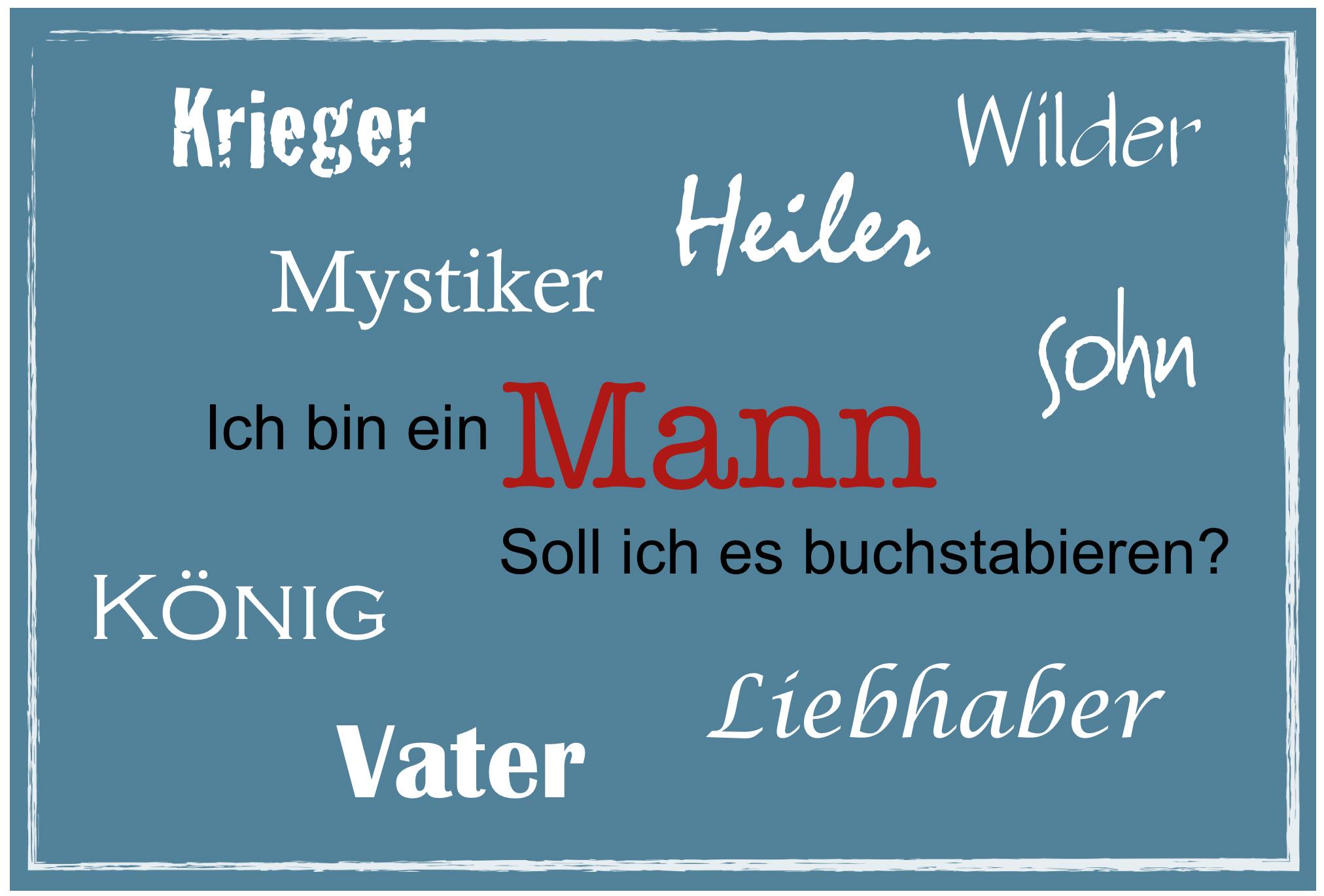 Mann und Männlichkeit | Harald Berenfänger – Souveränitäter® für Persönlichkeit(en)
